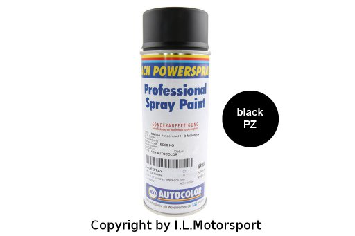 LACKSPRAY-PZ-Z - Lackspray PZ   -   Brillant black