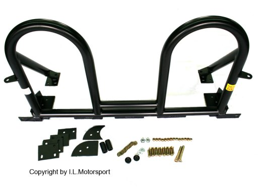 NAB-0227 - MX-5 Hard Dog Deuce Bar D2H side braces with Harness Tabs