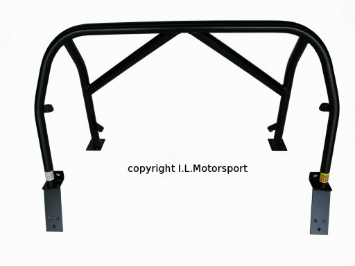 NAB-0228 - MX-5 Hard Dog M2 Sport Bar 9SD2H Double Diagonal With Harness Tabs