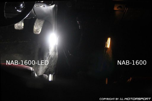 NAB-1602-LED - MX-5 LED Interieur Verlichting Set chroom - 3