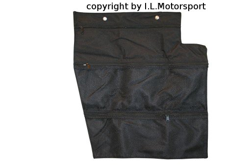 NAB-3401 - MX-5 Car Seat Storage Bag Left