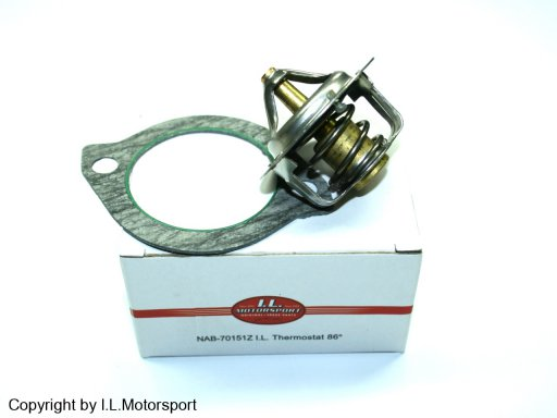 NAB-70151Z - MX-5 Thermostat & Dichtung 86�C I.L.Motorsport