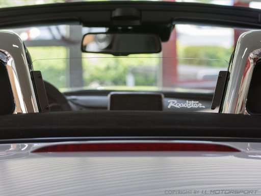 MX-5 Wind Deflector Clear I.L.Motorsport