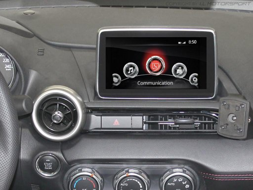 ND0-301256 - MX-5 Displayschutz für MZD Connect Infotainment-System - 4