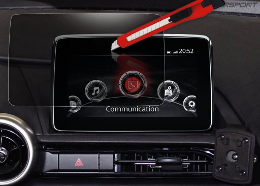 ND0-301256 - MX-5 Displayschutz für MZD Connect Infotainment-System - 5