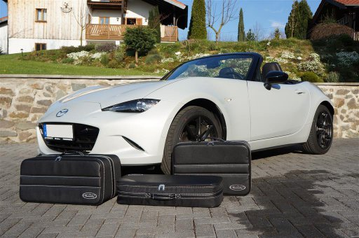 ND0-3445A - MX-5 Roadsterbag / Reisekoffer 3 Formstabile Koffer