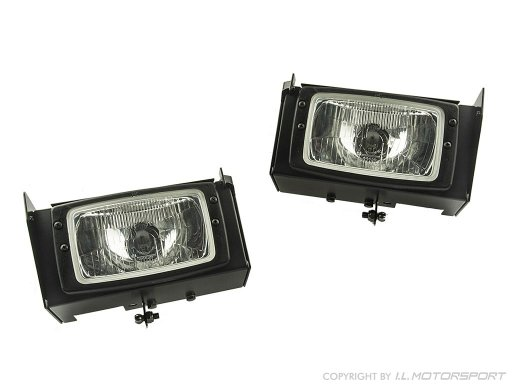 MX-5 Low Profile Headlight Kit Hella Rectangle