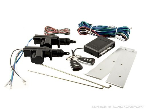 MX-5 Central Door Locking Kit With 2 Remotes