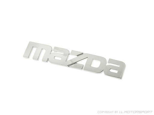 MX-5 Mazda Badge chromed Mk1