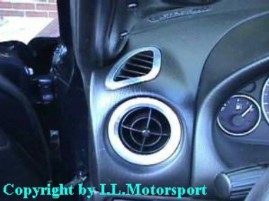 I.L.Motorsport Side Demister Trim Silver