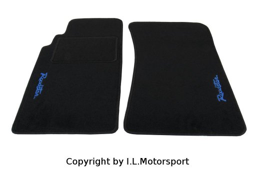 MX-5 Floor Mats Blue Roadster Logo