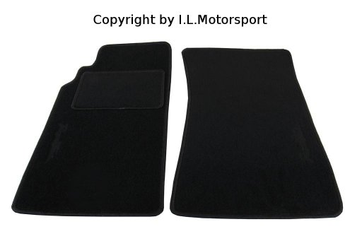 MX-5 Floor Mats Black Roadster Logo