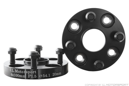 MX-5 Wheel Spacer Set 40mm Per Axle DRM