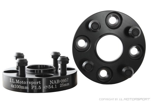 MX-5 Wheel Spacer Set 50mm Per Axle DRM