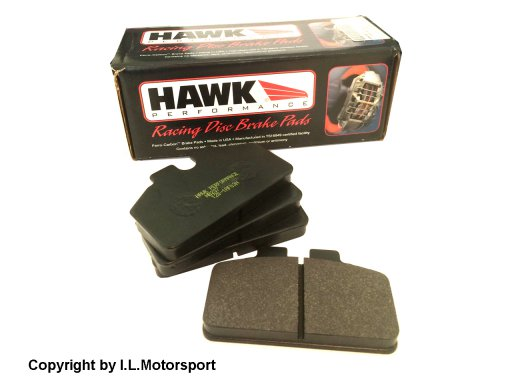 Hawk Performance Brakepads Front Type Black