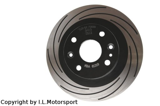 MX-5 Race Brakedisc Set Rear TAROX F2000