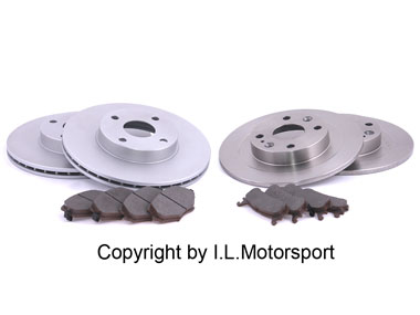 MX-5 Complete Brake Set 255 Front And 251 Rear Mazda Japan