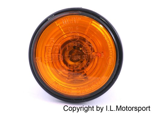 MX-5 Side Repeater Amber With Black Ring