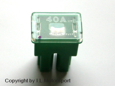 MX-5 PAL Fuse 40A green