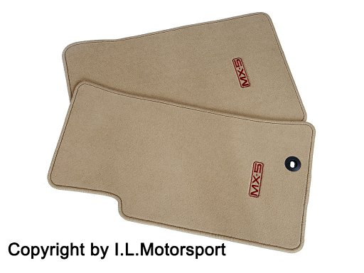 MX-5 Mazda Floor Mat set / Typ Luxury beige
