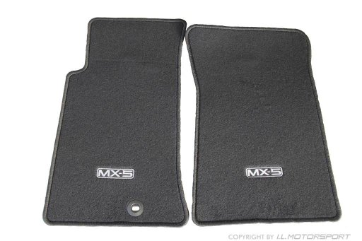 MX-5 Genuine Mazda Floor Mat Set Black