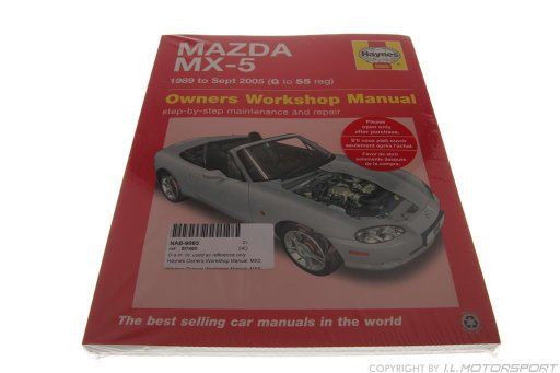 MX-5 Haynes Owners Workshop Manual