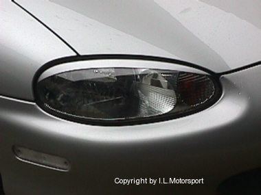 MX-5 Headlamp EyeBrows / Eyelids
