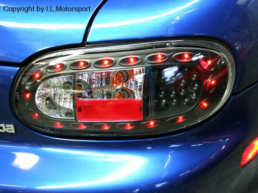 LED Tail lights black/smoke finish