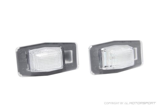 MX-5 Rear Numberplate LED Lamp Set