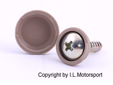 MX-5 Screw with Beige Cap