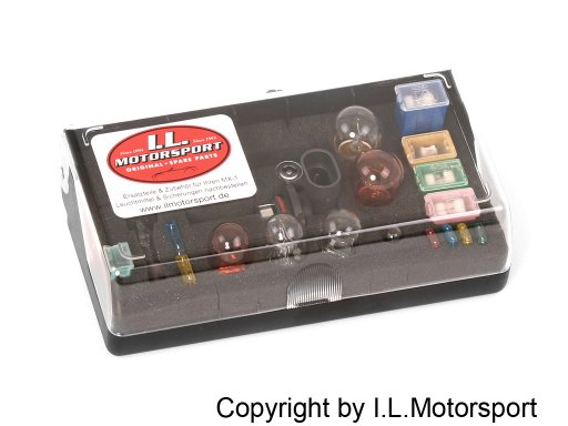 MX-5 Replacement Bulb & Fuse Box with HB3 & H7