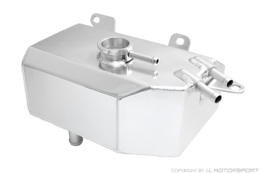 MX-5 Coolant Expansion Tank Polished Aluminum I.L.Motorsport