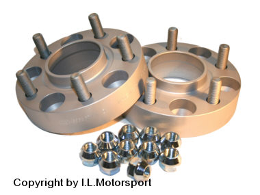 MX-5 Wheel Spacer Set 50mm Per Axle DRM System