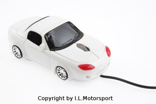 MX-5 Computer Mouse Wired White