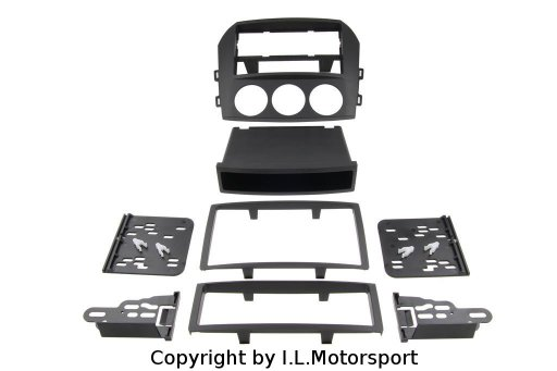 MX-5 Audio Panel Conversion Kit 1DIN / 2DIN