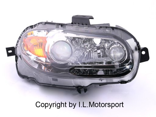 headlamp Xenon NC right
