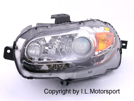 headlamp Xenon NC left