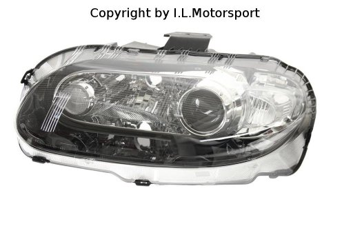 Genuine Mazda Headlamp Niseko Xenon Left