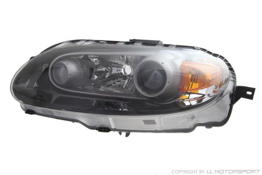 MX-5 Headlamp Xenon Silver Left