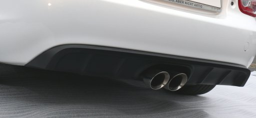 MX-5 Sport Exhaust Center Exit & Diffusor