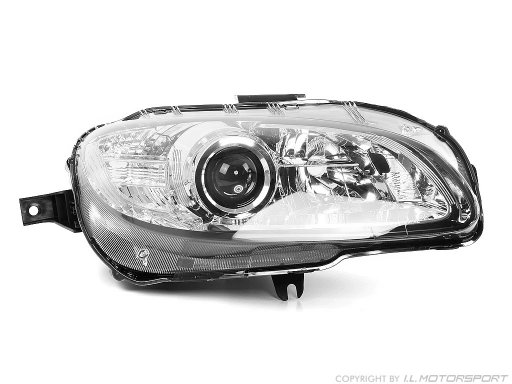 MX-5 Headlamp Xenon Chromed Right