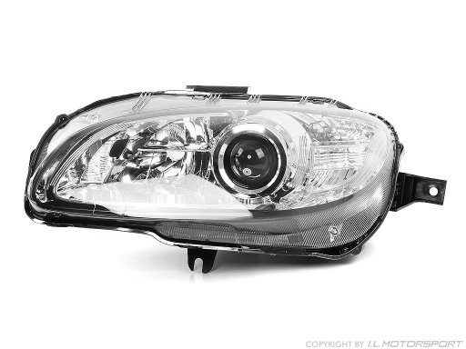 MX-5 Headlamp Xenon Left Chromed