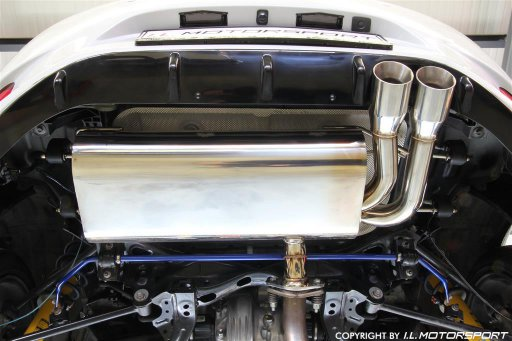 MX-5 Stainless Steel Sport Rear Silencer I.L.Motorsport Edition