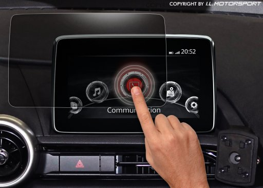 MX-5 Displayschutz für MZD Connect Infotainment-System