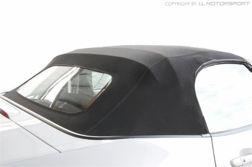 MX-5 Black Mohair Hood Including Frame
