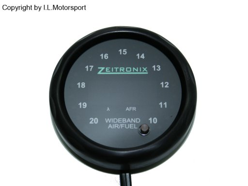 MX-5 ZR-2 Multi Gauge Black Ring Red Dials Zeitronix
