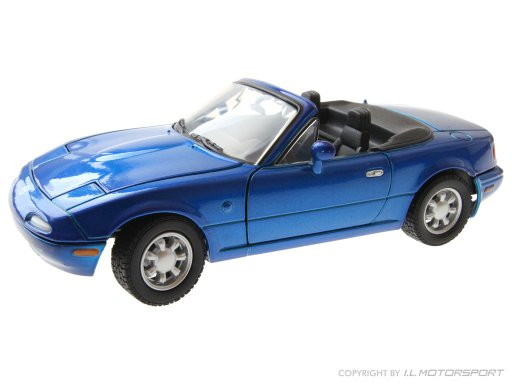 MX-5 Modellauto NA starry blue mica 1:24