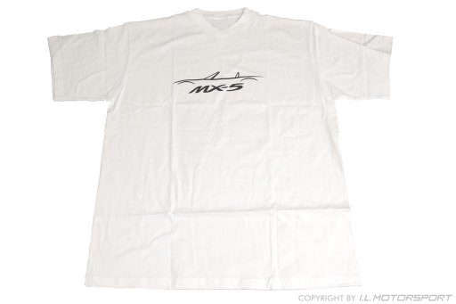 MX-5 T-Shirt Short Sleeve White XL