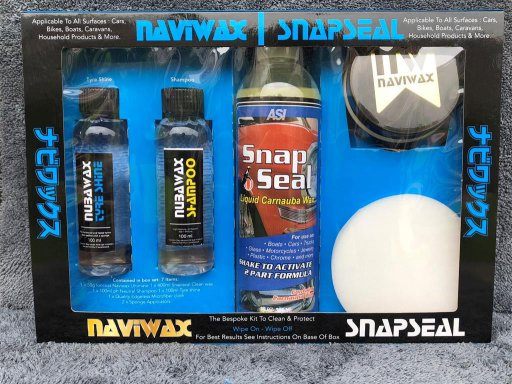 Naviwax Small Starter Box Set Contains 7 Items