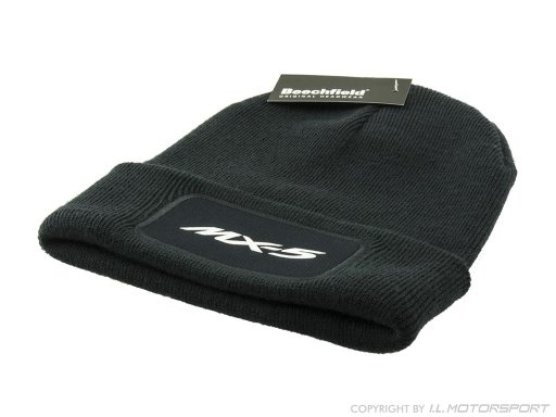 MX-5 Beechfield Original Patch Beanie -navy- with MX-5 print